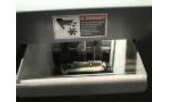 AMS-500HD Hard Drive Shredder by Ameri-Shred Video