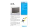 Munters DF 2100 Droplet Separator - Product Sheet