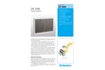 Munters DF 2500 Droplet Separator - Product Sheet