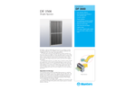 Munters DF 3500 Droplet Separator - Product Sheet
