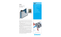 Munters DFF Three-stage Air intake systems - Product Sheet