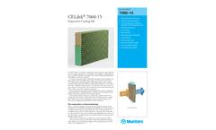 CELdek 7060-15 Evaporative Cooling Pad - Product Sheet