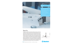 Munters Breeze High Volume Low Speed Fan, 5 Blades - Product Sheet