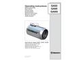 GA55 / GA95 / GA95t - Operating Instructions