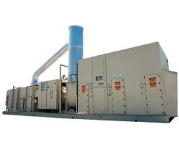 Munters - Zeolite Rotor Concentrator/Oxidizer System for VOC Abatement