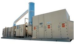 Munters - Zeolite Rotor VOC Concentrator with Desorption Heater