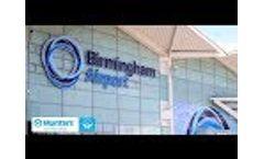 AHU Upgrade Saves 58% Power at Birmingham Airport - Video