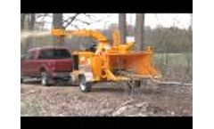 Bandit Model 1590XP 18` Drum Style Hand Fed Chippers Video