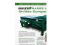 Ultra Stationary Compactor RJ 225- Brochure
