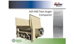 Model AST-440 - Stationary Auger Compactor- Brochure