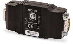 Campbell Scientific - Model SC105 - CS I/O to 9-Pin RS-232 DCE Synchronous Interface