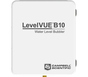 Campbell Scientific - Model LevelVUE B10 - Water-Level Continuous Flow Bubbler with Integrated Screen