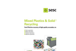 Mixed Plastics & Solid Waste Recycling