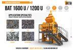 Brochure BAT 1600U/1200U