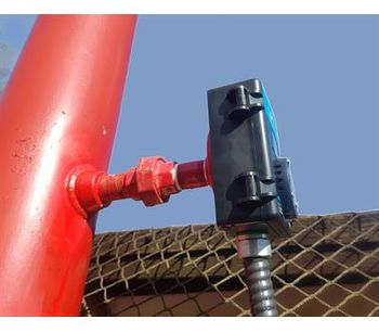 Ammonia Vent Line Gas Detector