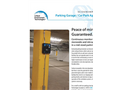 Parking Garage Application Brochure