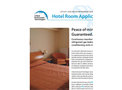 Hotel Room Air Conditioning Application Brochure