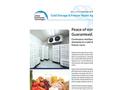Cold Storage / Freezer Room Application Brochure