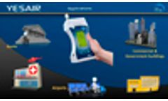 YES AIR Hand-held IAQ Monitor Product Overview Video