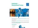 Unistream Standardised Pumps - Product Brochure