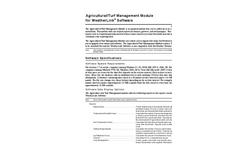 Agricultural/Turf Management Module Brochure