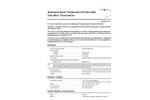 Vantage Pro2 - 6470 - Temperature Probe, Multi-Purpose Specification Sheets