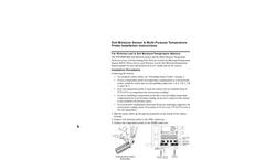 Vantage Pro/Pro2 Soil Moisture Sensor & Temp Probe Manual