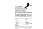 Davis - II - Rain Collector Specification Sheets