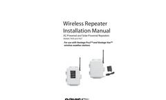 Wireless Repeater Manual