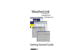 WeatherLink Getting Started Guide: Vantage Stations Manual