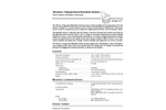 Davis - Wireless Temperature/Humidity Station - Brochure
