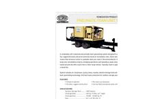 Model 1600/40 - Pneumatic Foam Unit Remediation Product Datasheet