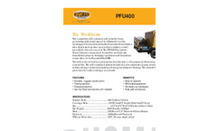Rusmar - Model PFU 400/25 - Completely Self-Contained and Portable Foam Generating System Datasheet