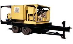 Rusmar - Model PFU 1600/40 - Pneumatic Foam Unit