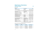 HDPE Smooth Product Data Sheet