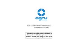 GeoClay - Geosynthetic Clay Liner Brochure
