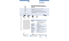 Model Type 2060 - Pneumatically Operated 2/2-Way Angle Seat Valve With Stainless Steel Actuator - Datasheet