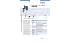Model Type 3360 - Electromotive 2 Way Angle Seat Control Valve - Datasheet
