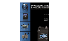 ems 2007 2008 Product Guide  Lead & Asbesto Sampling Pumps, Accessories & Calibration Equipment