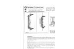 Model 1010 Series Niskin Non-Metallic Water Sampling Bottles - Specification Sheet