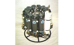 General Oceanics - Model M1018 - Mini Rosette Water Sampling System, 12 Pos 1.2L (Bottles Included)