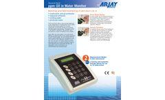 Arjay FluoroCheck - Model II - PPM Oil in Water Monitor - Brochure