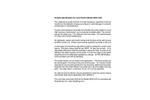 Arjay - Model 2852-CAP - Capacitance Monitor - Sample Specification