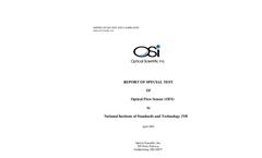 NIST Test Report Brochure (PDF 83 KB)