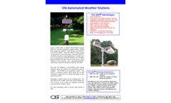 OSi - Model OWI-431 - Automated Weather Stations - Datasheet