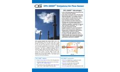 OSi - Model OFS-2000P - Emissions/Air Flow Sensor - Datasheet