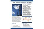 OSi OFS 2000-W Emissions Air Flow Sensor - Brochure