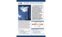 OSi - Model OFS-2000W - Emissions and Air Flow Sensor - Brochure