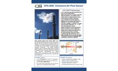 OSi - Model OFS-2000 - Emissions and Air Flow Sensor - Brochure