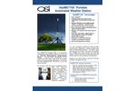OSi HazMET-100 Portable Automated Weather Station - Brochure
